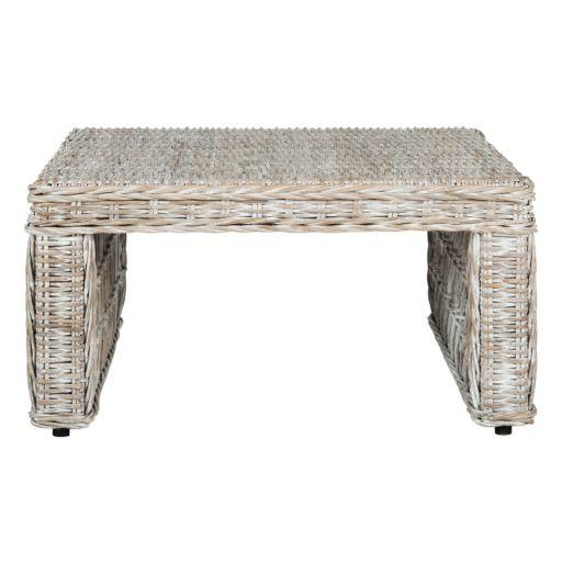 Safavieh Shila Wicker Coffee Table