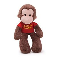 GUND Curious George Take-Along Plush
