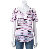 Women's Apt. 9® Flutter Sleeve Top
