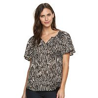 Women's Apt. 9® Flutter Sleeve Top