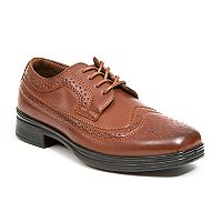Deer Stags Ace Boys' Wingtip Oxford Shoes