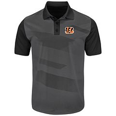 Men's Majestic Cincinnati Bengals Club Seat Polo