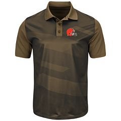 Men's Majestic Cleveland Browns Club Seat Polo