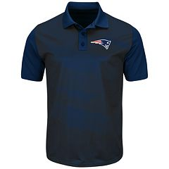 Men's Majestic New England Patriots Club Seat Polo
