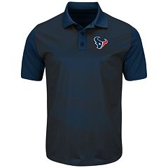 Men's Majestic Houston Texans Club Seat Polo