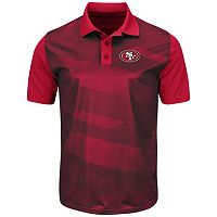 Men's Majestic San Francisco 49ers Club Seat Polo