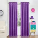 eclipse Polka-Dot Thermaweave Blackout Window Curtain