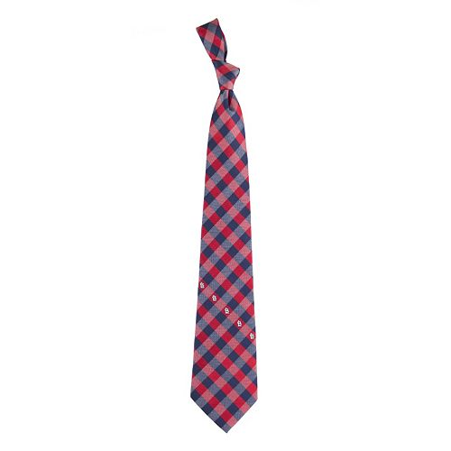 Adult MLB Check Woven Tie