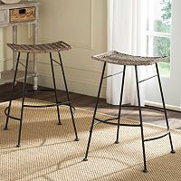 Safavieh Atara Counter Stool 2-piece Set