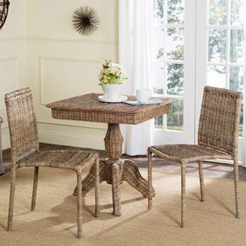Safavieh Makassar Wicker Chair 2-piece Set