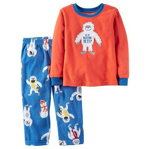 Boys 4-8 Carter s Yeti 2-Piece Pajama Set c41c46ceb