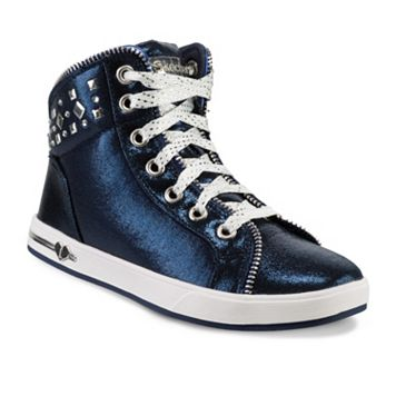 Skechers Shoutouts Zipsters Girls' High-Top Sneakers