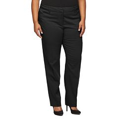 Plus Size Apt. 9® Lucca Modern Fit Straight-Leg Pants