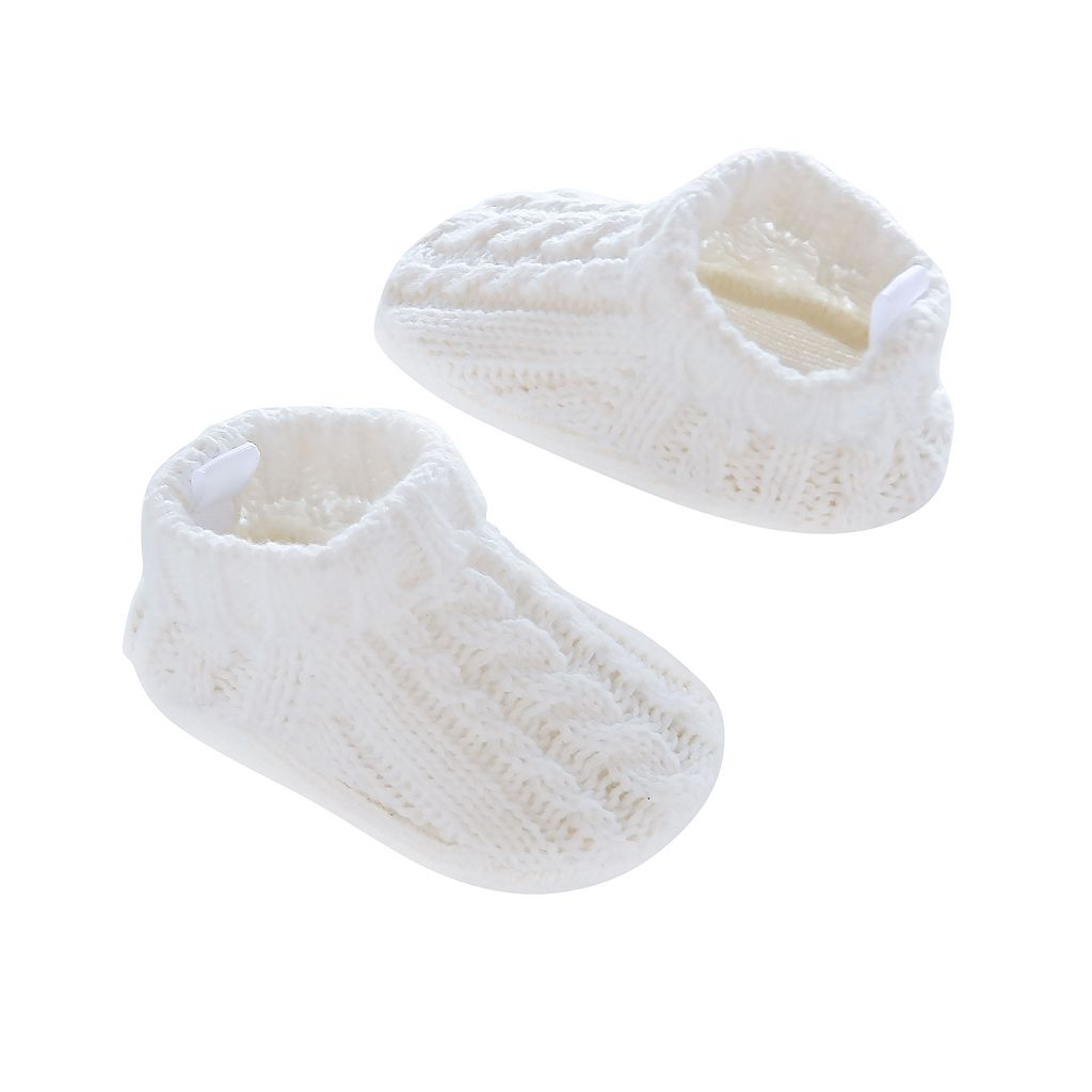 Baby Boy Carter's Cable-Knit Slippers