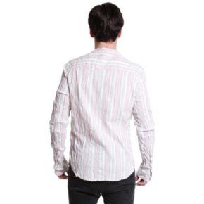 Men's Excelled Slim-Fit Striped Henley