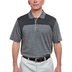 Men's Pebble Beach Classic-Fit Chest-Striped Performance Golf Polo