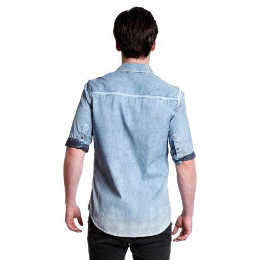 Men's Excelled Woven Denim Shirt