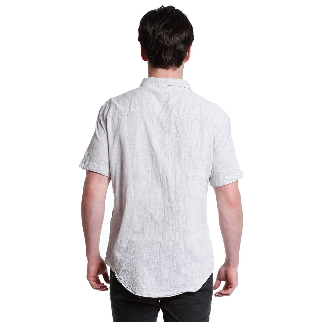 Men's Excelled Linen Button-Down Shirt