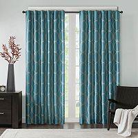 Madison Park Lenox Embroidered Taffeta Window Curtain
