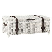 Safavieh Navarro Wicker Trunk
