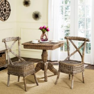 Safavieh Katell Wicker Dining Chair 2-piece Set