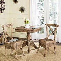 Safavieh Katell Wicker Dining Chair 2 pc Set