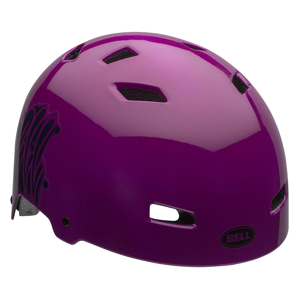 Youth Bell Injector Graffiti Bike Helmet