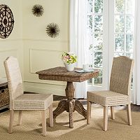Safavieh Odette Wicker Dining Chair 2 pc Set