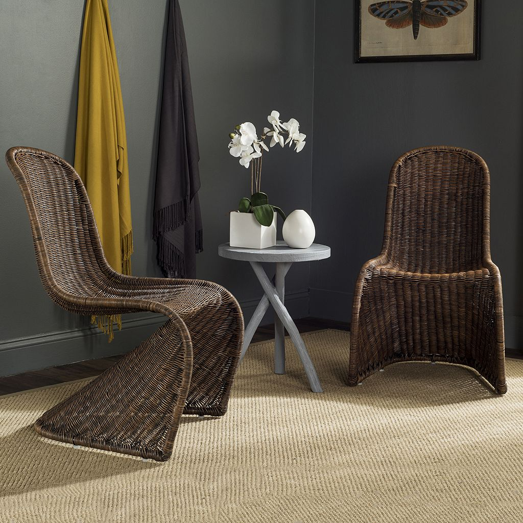 Safavieh Tana Wicker Chair 2-piece Set