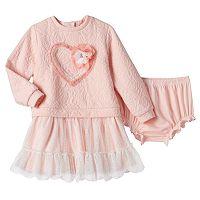 Toddler Girl Nannette Tulle Sweaterdress