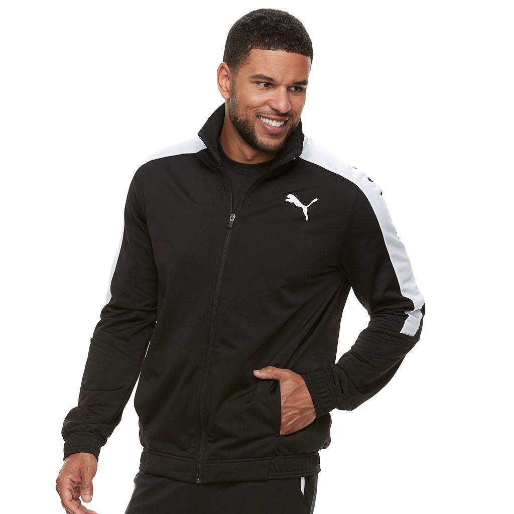 Men's PUMA Colorblock Track Jacket