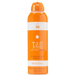 TanTowel Broad Sprectrum SPF 30 Sunscreen Mist