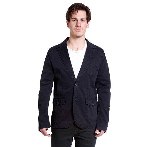 Men's Excelled Slim-Fit Peached Blazer
