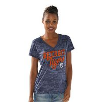 Women's Detroit Tigers All Star Burnout Tee