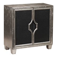 Ava Glam 2-Door Storage Cabinet