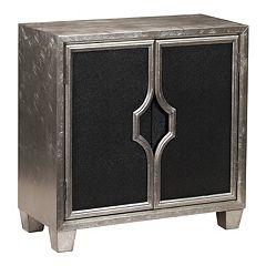Ava Glam 2-Door Storage Cabinet by