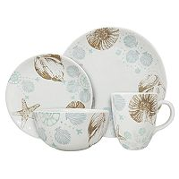 Celebrate Local Life Together Coastal 16-pc. Dinnerware Set