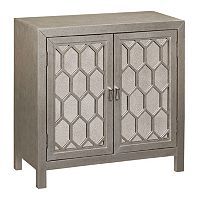 Bethany Honeycomb 2-Door Cabinet