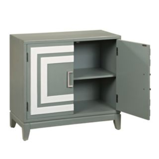 Leslie Modern Squares 2-Door Cabinet