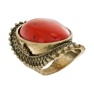 GS by gemma simone Oval Cabochon Ring