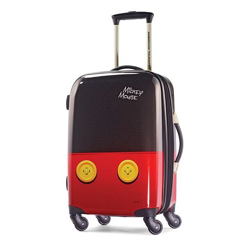 Disney's Mickey Mouse Pants Hardside Spinner Luggage by American Tourister