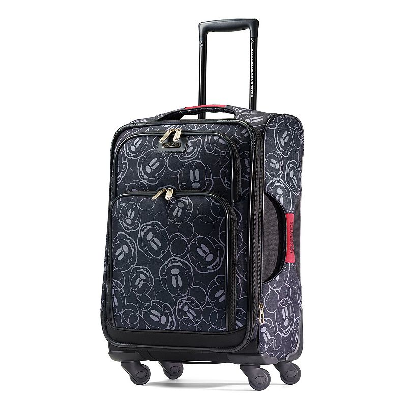 b6d4d42ff3 049845211998. Disney s Mickey Mouse Face Print Spinner Luggage by American  Tourister ...