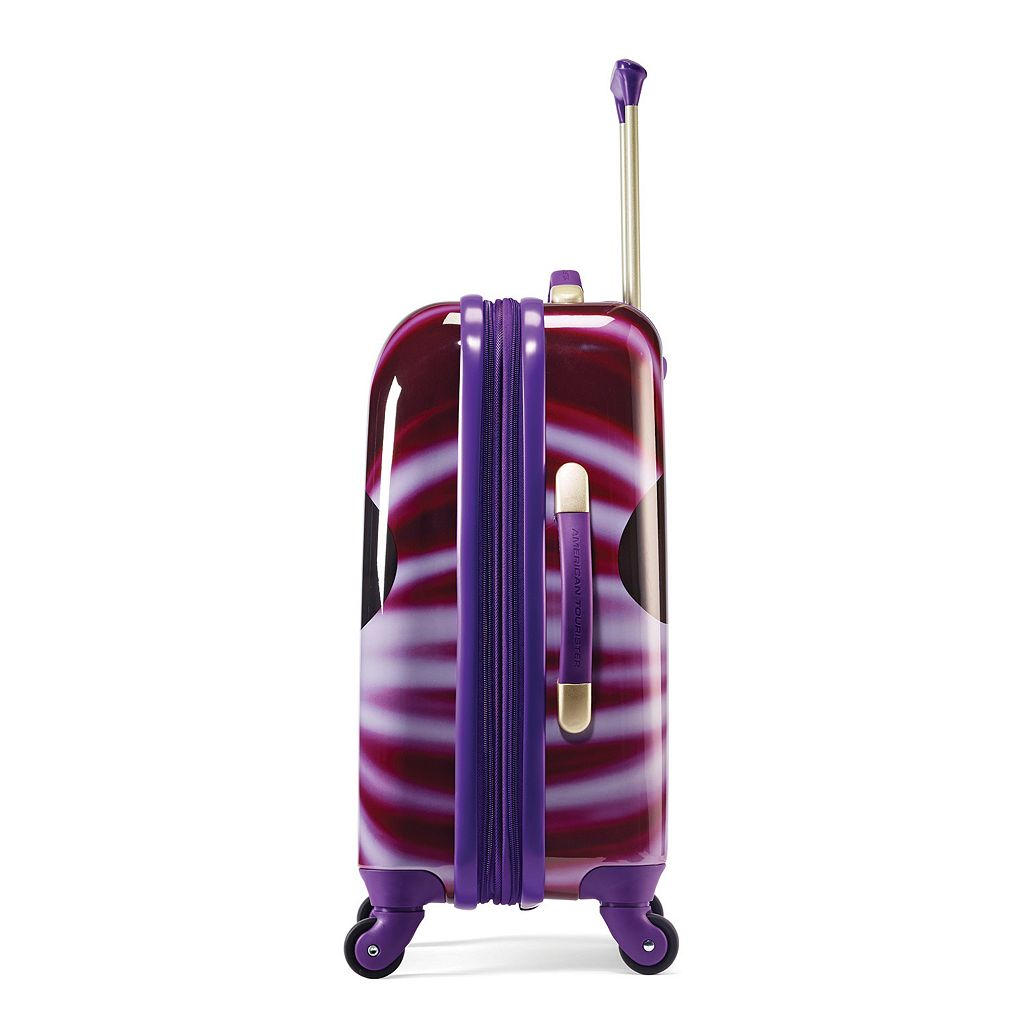 Disney's Minnie Mouse Face Hardside Spinner Luggage by American Tourister