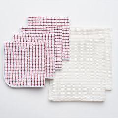 Food Network™ Scrubber Microfiber Kitchen Towel 6-pk.