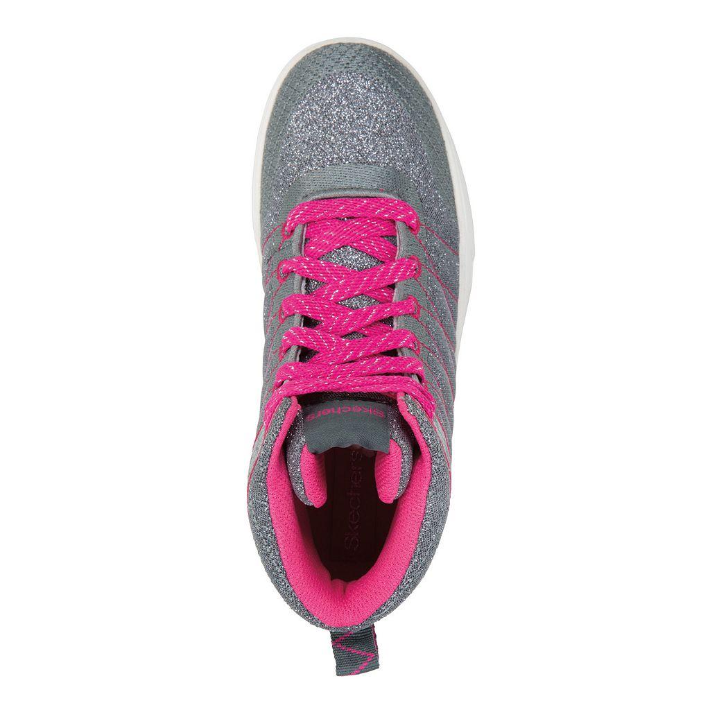 Skechers Shoutouts Glitzy Ritz Girls' High-Top Sneakers