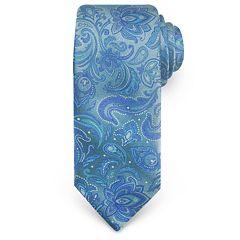 Haggar Paisley Microfiber Tie