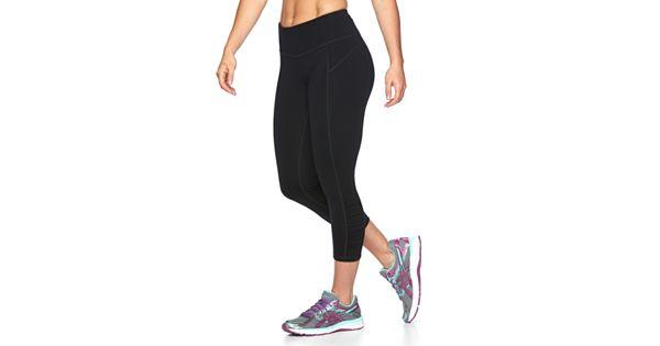 Women S Tek Gear 174 Shapewear Shirred Capri Workout Leggings