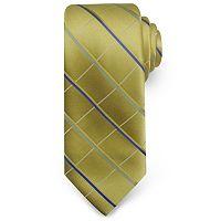 Haggar Grid Microfiber Tie