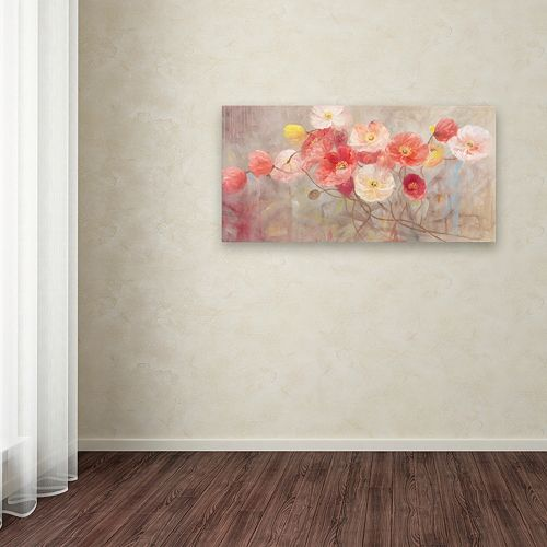 Trademark Fine Art Wild Poppies I Canvas Wall Art