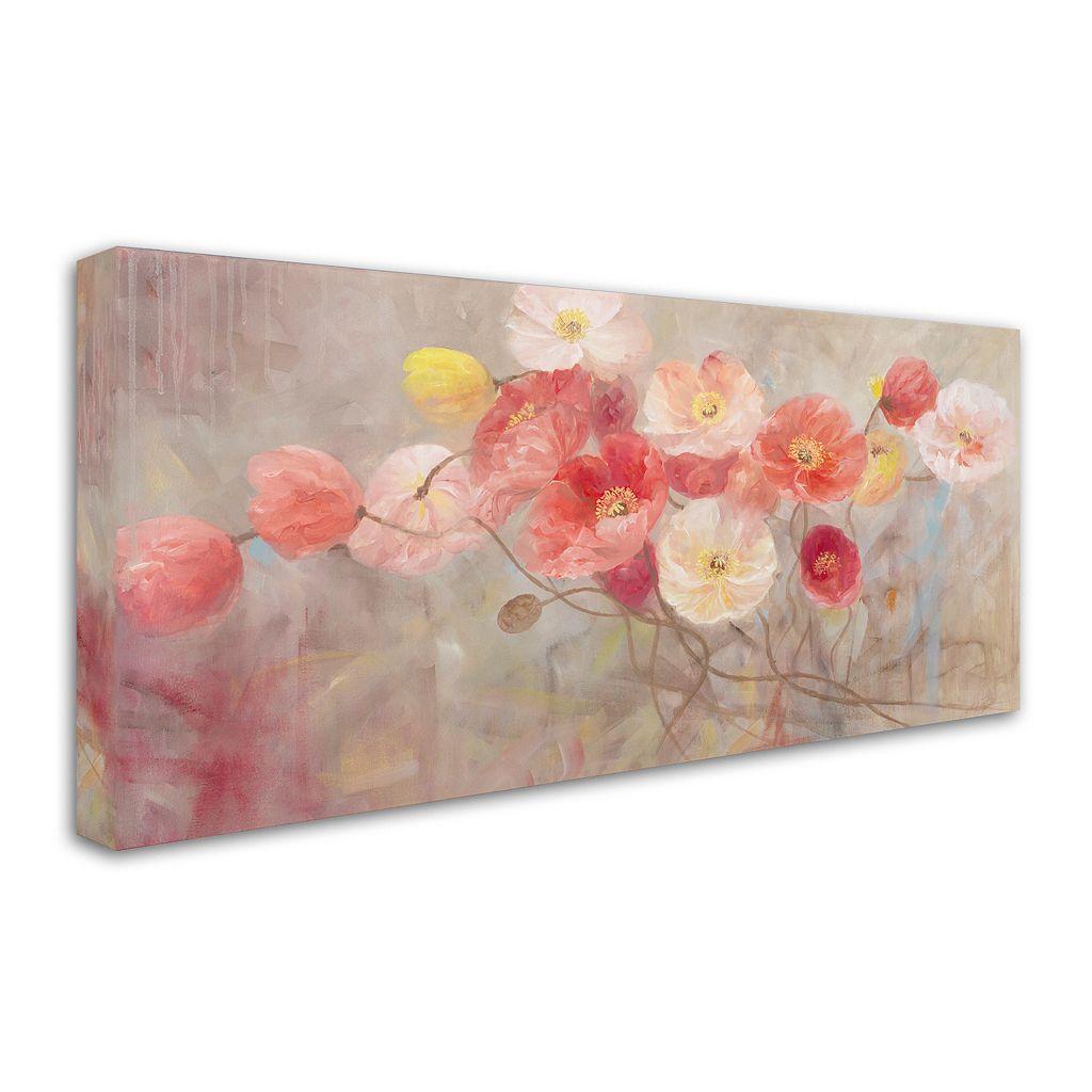 Trademark Fine Art Wild Poppies I Canvas Wall Art